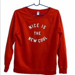 Old Navy Nice is the new Cool Sweater Size Small